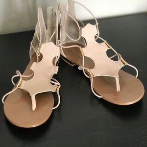ALDO 'Zeanna' Strappy Gladiator Sandal - Size 8.5